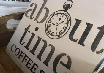 About Time Coffee shop – Art Exhibition